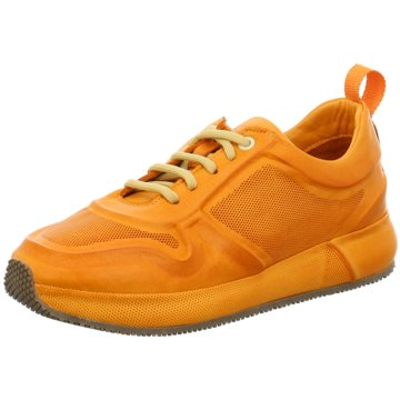 Only A Shoes Sportlicher Schnürschuh orange