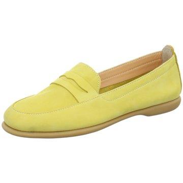 Carmela Klassischer Slipper gelb