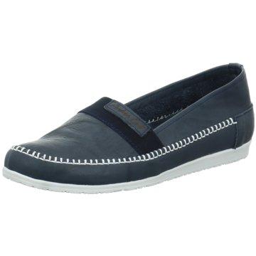 Andrea Conti Komfort Slipper blau