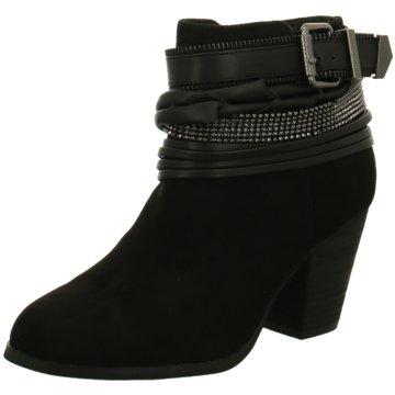La Strada Klassische Stiefelette schwarz
