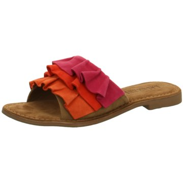 Lazamani Klassische Pantolette rot