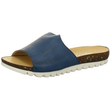 Andrea Conti Komfort Pantolette blau