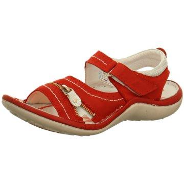 KRISBUT Komfort Sandale rot