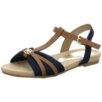 Tom Tailor Komfort Sandale braun