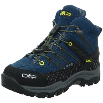 CMP Wander- & BergschuhKIDS RIGEL MID TREKKING SHOE WP - 3Q12944 blau