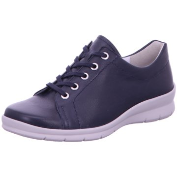 Semler Sportlicher Schnürschuh blau