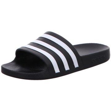 adidas Top Trends Pantoletten schwarz