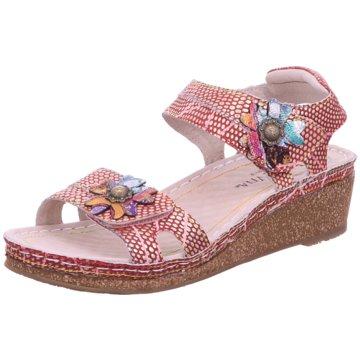 Estelle Komfort Sandale rot