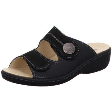 Longo Komfort Pantolette schwarz
