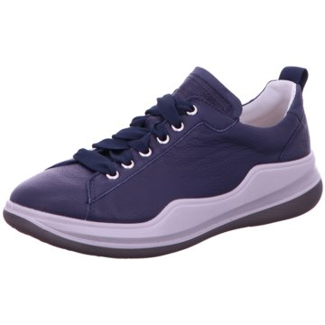 Romika Komfort Schnürschuh blau
