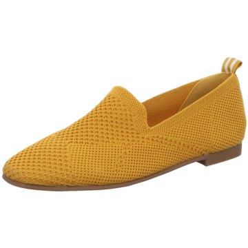 La Strada Komfort Slipper gelb