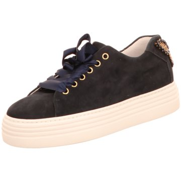Alpe Woman Shoes Plateau Sneaker blau