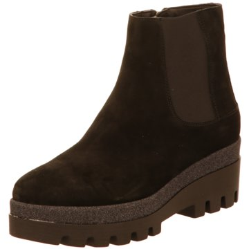 Alpe Woman Shoes Plateau Stiefelette schwarz