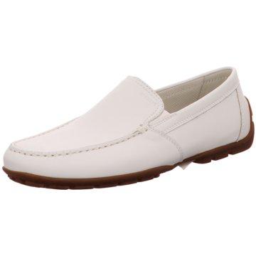 Geox Komfort Slipper weiß