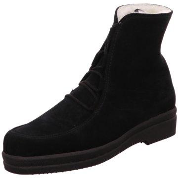 Kandahar Bequeme Stiefel schwarz