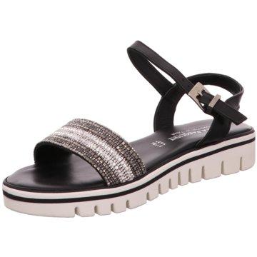 Chiara Pasquini Sandalette schwarz