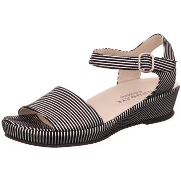 Brunate Sandale schwarz