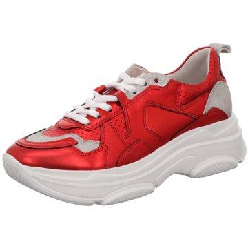 Kennel + Schmenger Plateau Sneaker rot