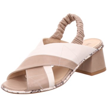 Laura Bellariva Sandalette beige