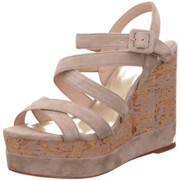 The Seller Plateau Sandalette beige