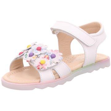 Naturino Offene Schuhe weiß