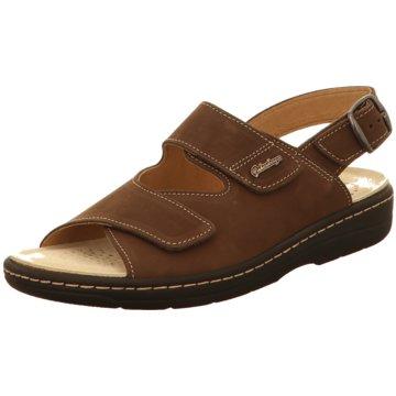 Hickersberger Komfort Sandale braun