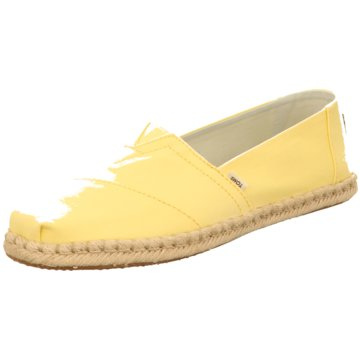 TOMS Espadrille gelb