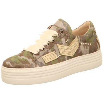 Mjus Plateau Sneaker oliv