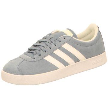 adidas Sneaker LowVL Court 2.0 Suede Women grau