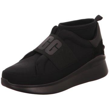 UGG Australia Sportlicher SlipperSneaker schwarz