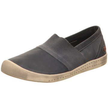 Softinos Komfort Slipper blau
