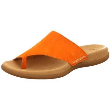 Gabor Komfort Pantolette orange