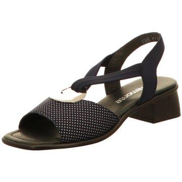 Remonte Komfort SandaleSandale blau