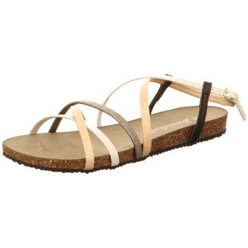 Sommerkind Sandale braun