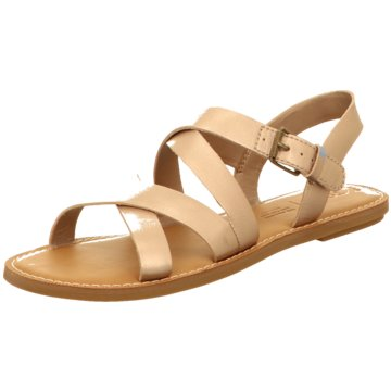TOMS Sandale gold