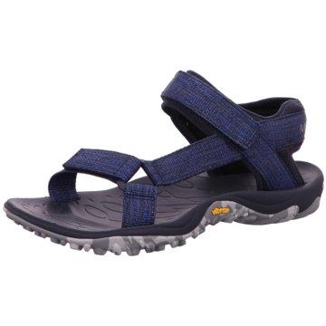 Merrell Bequeme Sandalen blau