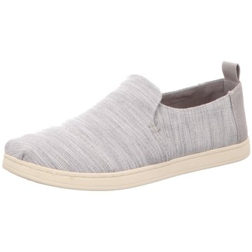 TOMS Slipper grau