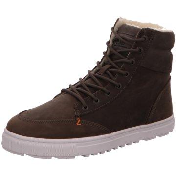 Hub Sneaker High grau