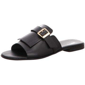 DE.VI.L. Shoes Top Trends Pantoletten schwarz
