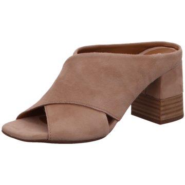 Alpe Woman Shoes Klassische Pantolette rot