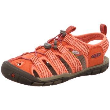 Keen Outdoor Schuh orange