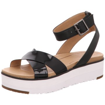 UGG Australia Sandalette schwarz