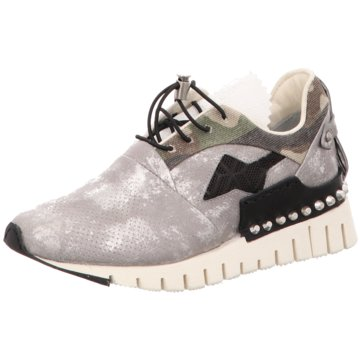 A.S.98 Modische Sneaker silber