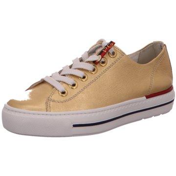 Paul Green Sneaker Low4760 gold