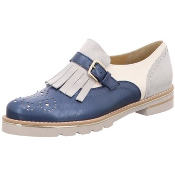 Brunate Hochfront Slipper blau