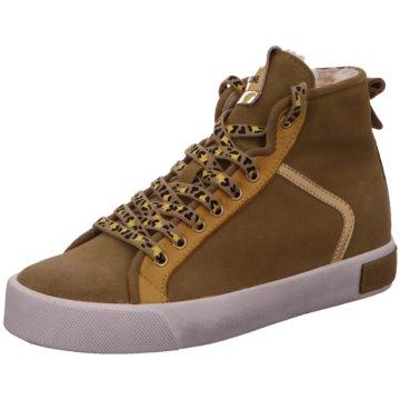 Blackstone Sneaker High grün