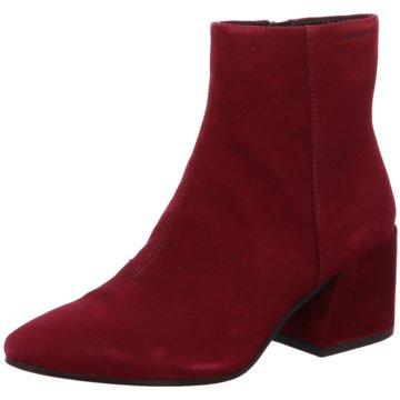 Vagabond Klassische Stiefelette rot