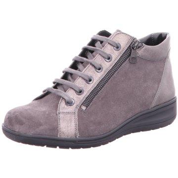 Solidus Komfort Stiefelette grau