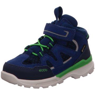 Ecco Halbhoher Stiefel blau