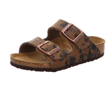 Birkenstock Offene Schuhe braun